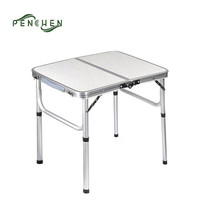 Small Folding Aluminium Camping Folding Cocktail Table