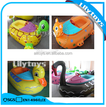 Kids inflatable bumper hand pedal boat