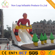China inflatable snow slide exciting skiing slide for sale