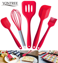 Hight Quantity 5PCS Silicone Kitchen Utensils set