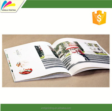 Hot sale glossy paper catalog&ampbrochure custom with best quality and low price