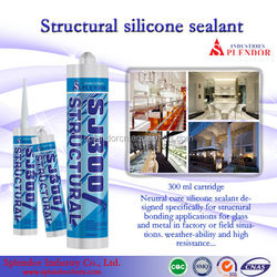 structural silicone sealant/ SPLENDOR high quality cheap silicone sealants/ silicone sealant for car windshield
