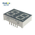 DIP 10pins White color 11000K 0.52 inch 2 digit CC led display 7 segment
