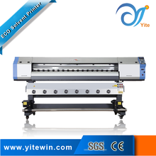 Four color continuous form small window sticker flax digital printing machine