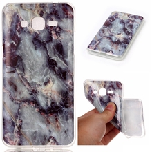 New TPU Gel Phone Protective Slim Cover Marble Back Case for Samsung Galaxy G530