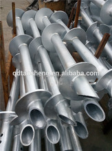 Helical Piled Foundations Screw Piles Or Earth Anchors