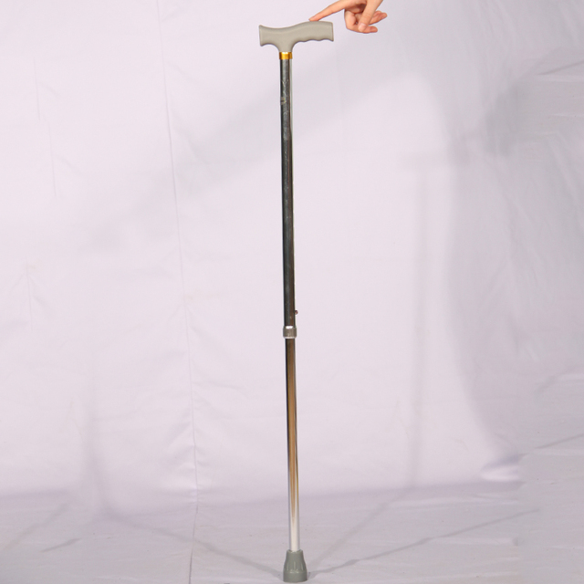 High quality aluminium alloy factory supply nordic titanium underarm walking stick