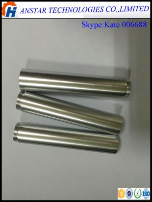 CNC turning stainless steel internal screw thread telescopic tube/pipe/fitting