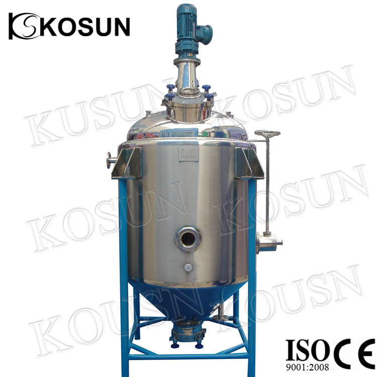 3000liter SS316 stainless steel pressure chemical tank