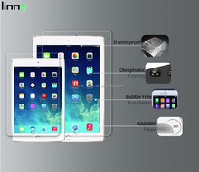 9.7 inch Tablet tempered glass screen protector for The New iPad oem/odm (High Clear)