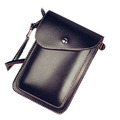 pu travel neck wallet phone women bag wallet for gilrs