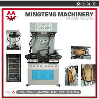 Wall type sole attaching machine sole heat press machine