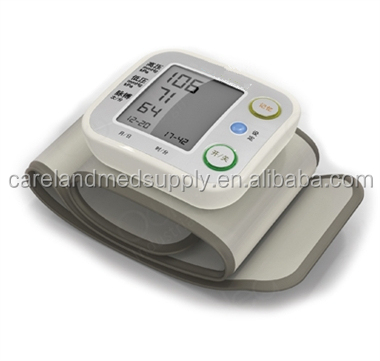 High Performance Wrist Type Digital Electronic Blood Pressure Monitor CE marked