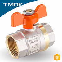 China supplier brass ball valve,ball valve price,long stem ball valve for water and gas CW617n material in TOMK