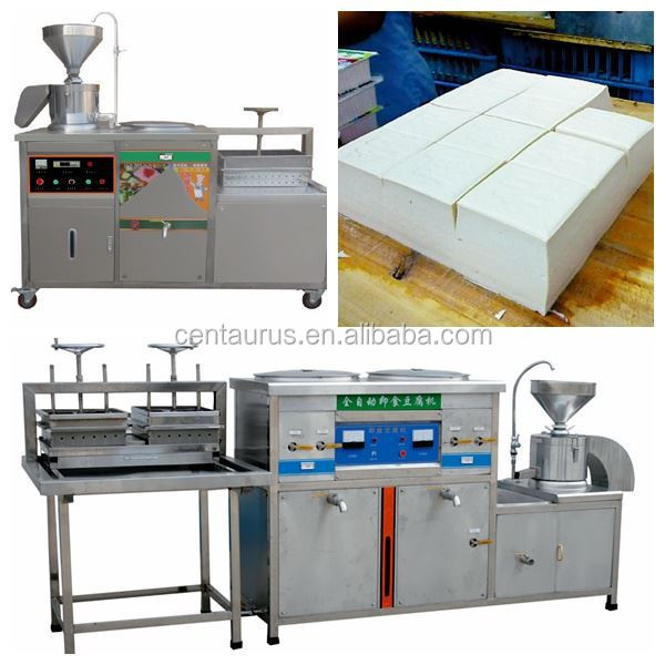 Hot selling automatic soybean milk tofu making machine with best price