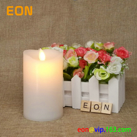 "2017 New Design EU patent 5"" flameless moving wick led scented candle"