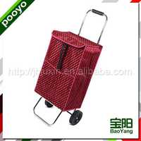 portable trolley bag with wheels for promotion accessories retailers
