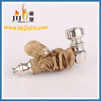 Yiwu jiju JL-032 Chinese Battery Powered Glass Pipes Smoking Accessories