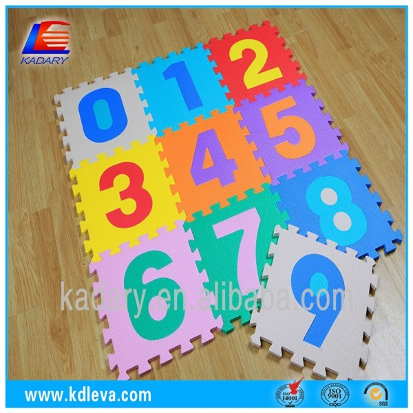 Kids EVA Foam Floor number Puzzle Play Room Floor Mat
