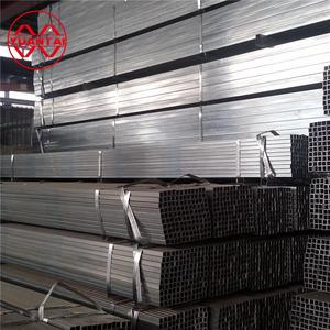 mild pipe rectangular pre galvanized steel square tube material specifications for scaffolding