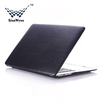 New Style Leather Laptop Sleeve for Macbook 13.3'' Black