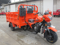 strong motorcycle truck 3-wheel tricycle/cargo tricycle with cabin/cargo tricycle with closed cabin