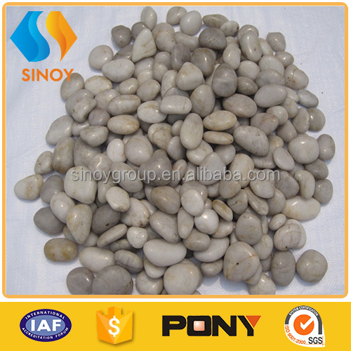 Hot sale landscaping white pebbles