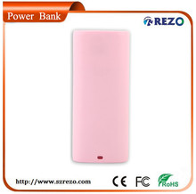 micro usb 3000mah portable power bank with replaceable battery