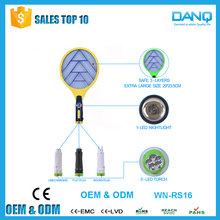WN-RS16 high quality mosquito racquet with LED mosquito catcher