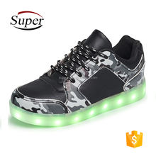 Wholesale Kids Simulation Sneaker Light Up Led Shoes Children With Light