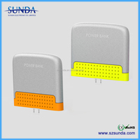 Latest Sunda pocket power bank without cable power