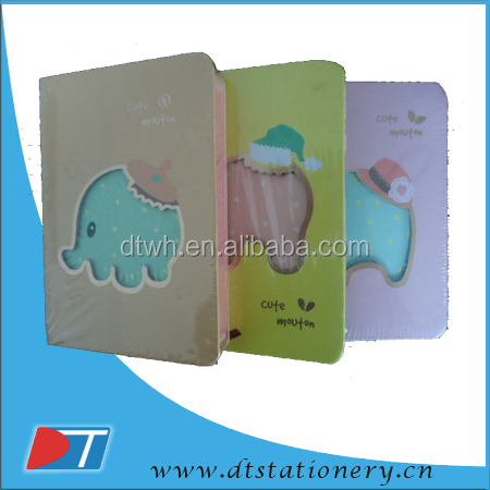 customized printing cheap paper hardcover note book