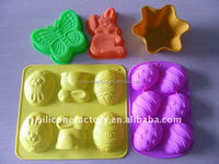 Factory Easter silicone cake mold moulds