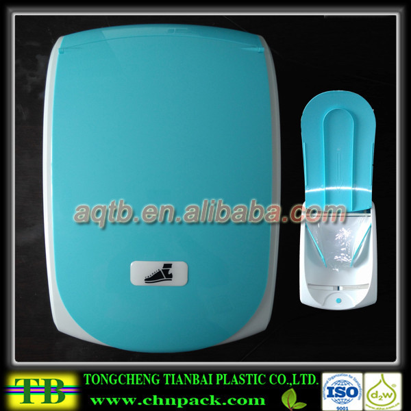 rechargeable automatic shoe cover film machine,sanitary shoe cover dispenser