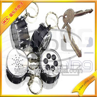 novelty digital voice recorder keychain promotion sound recordable keychain