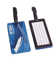 Factory supply fashion striped luggage tag