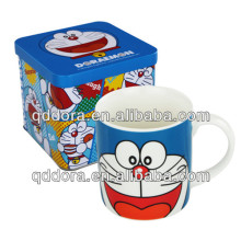 frosted mug with cartoon print,italian ceramic souvenir mug,mug printing machine price in india