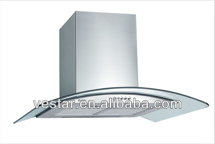 best selling products in europe tempered glass kitchen chimney