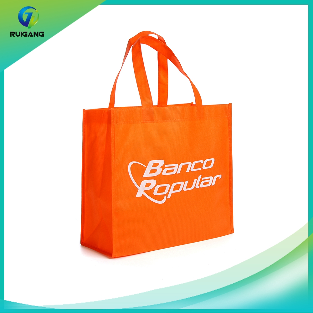 China gift paper bag manufacturs reusable nonwoven shopping bag