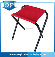 Folding fishing stool-big red color