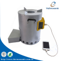 Biomass Stove with a 5 Watts Thermoelectric Power Generator