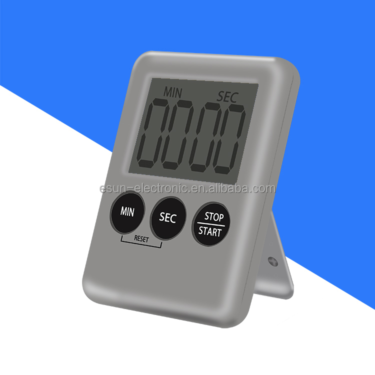 Home And Kitchen Accessories Digital Kitchen Timer Countup Countdown Timer Display Battery Powered