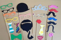 Stylish Costume Party Fake Beard Mustache (20Pcs/set) Party Funny Wholesale