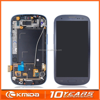 Long warranty Replacement For Samsung Galaxy S3 LCD Display Touch Screen Digitizer White Blue i9300