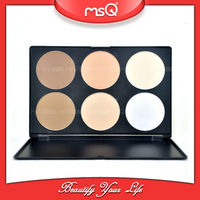 MSQ 6 Colors Make Up Foundation Concealer Palette Set