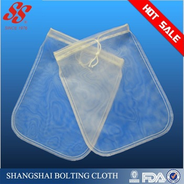 China Factory Nylon Mesh Nut Milk Bag Filter With Economical Price