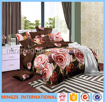 Luxury king bedroom sets China supplier bed cover