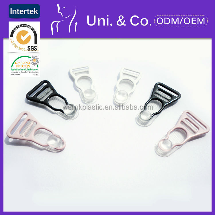 High quality lingerie magnetic metal garter belt clips for silk stockings