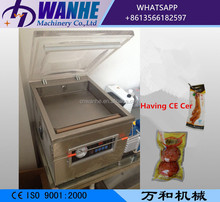 DZ-300/PD semi automatic desktop vacuum sealer packer mini vacuum packing machine for food rice meat fish