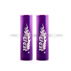 High quality efest 18650 battery 40A 18650 2600MAH purple battery rechargable